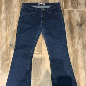 J brand high waisted boot cut blue jeans size 29